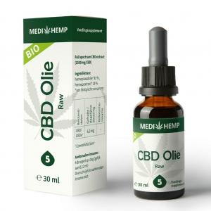 MediHemp CBD olie RAW