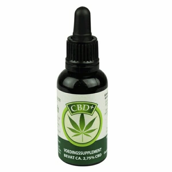 Jacob Hooy CBD olie 2,75% 10 ml